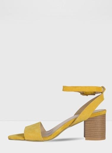 Aldo Doreclya-Tr - Sari Kadin Topuklu Sandalet Sarı